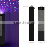 Promotion beautiful soundbar speaker with 360 Rotating ball lamp,bluetooth/USB/SD/led screen