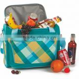 Hot sell 24 Can Picnic Bag Coffee Bag Cooler Bag with handle and shoulder strap frozen food or wine