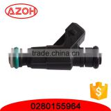 High quality car engine parts 2 pins new fuel injection valve OEM parts 0280155964 BOSCH
