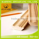 Decorative primed wood moulding skirting board