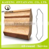 Factory-chinese decorative wood mouldings for corner