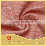Cationic polyester heather lycra fabric for sports jersey                                                                                                         Supplier's Choice