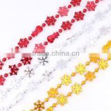 China Wholesale Top quality christmas decoration craft styrofoam ornament with snowflake shaped