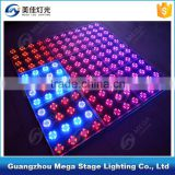500x500 tempered glass interactive led night club dance floor