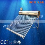 300L home appliance solar products solar thermal heating system: Non-pressure Stainless Steel Solar power system