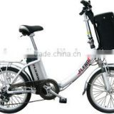20'aluminium folding electric bicycle with low frame