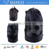 Wholesale cheap mash drawstring buggy bag sport bag three sizes for option