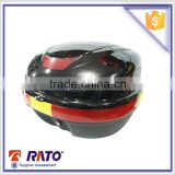 motorcycle tail box black and palstic material motorcycle trunk latch