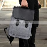 multifunction felt travel bag knapsack packsack