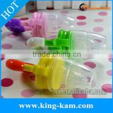 Food grade silicone baby fruit suction feeder