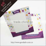 2014 Best selling paper board photo frame / stand paper photo frame / cardboard paper handmade paper photo frames