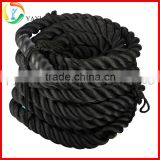 Crossfit Strength and Core Traning Nylon Battle Rope                                                                         Quality Choice