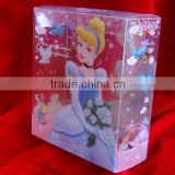 Transparent gift packaging box