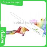 Customized perfume test paper smelling strip for cosmetic shop                                                                         Quality Choice