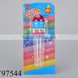 Plastic microphone shape candy toys candy strong toys contain the candies
