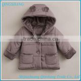 custom kids feather down coats for winter