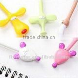 Lovely cartoon creative stationery animal shape ballpoint pen