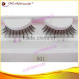 Real human hair strip false eyelash