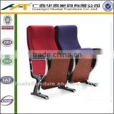 Fabric luxury folding theater chairs commercial cinema seating folding auditorium chair