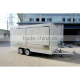 china made fiberglass coffee and food trailers XR-FV420 A                                                                                                         Supplier's Choice