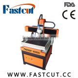 FASTCUT6060 High quality and precision Dust-proof suction device T-slot table wood cnc machine