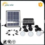 2016 hot selling 4w solar panel mini solar power lighting system for home use                                                                         Quality Choice