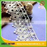Direct factory cotton african big swiss french net embroidered lace for bridal,Garment,dress,home textile