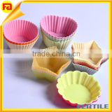 Silicone Cake tools Muffin Cups Chocolate Cupcake Case Liner Baking Cup Mold
