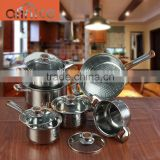 Classic cookware sets cookware with aluminum disc base with pot and frying pan combination