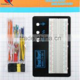 new hot sell 830 tie-point jumper wire cable kit solderless breadboard
