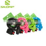 Durable Bike Lock Colored Bicycle Lock Cable Bike Lock For Bicycle