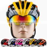 Attractive Designer Racing Bike Cycle Helmets Special Bike Helmet with Glasses