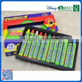 OEM design color crayons types of kids drawing crayons wrappered into OEM box