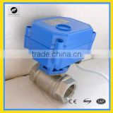 Standard or no Standard electrical ball valve NPT thread CWX-15Q/N mini motorized valve