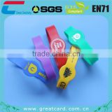 Customized Waterproof NFC Silicone RIFD Wristband for Events
