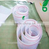braided flat nylon material egg collection belt for chicken farm