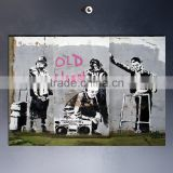 3d canvas wall sticker banksy prints