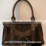Leather Material and Hobo Bag,Handbag Style leather hand bag for ladies, Completely handmade.