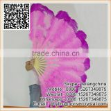 Factory Wholesale Price Sale Large Ostrich Feather Fan Belly Dance Feather Fan