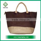 Tote jute bag for promotion of Natural Jute Color