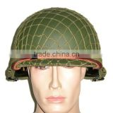 US Replica M1 WWII Infantry Army Helmet with Liner & Helmet Net-Green