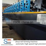 Sihua high speed high precisionmetal standing seam metal roof machine sheet metal roll forming roll formers