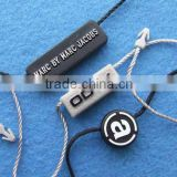 Top Quality Eco-friendly Wholesale Plastic Seal string tags, seal clips or hang tag string tablet