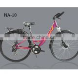 NA-10 Latest design factory price Commuter bike cargo bicycle butterfly handlebar comfortable seat saddle 700C*432M frame HOMHIN