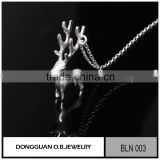 2016 New matte necklace New Fashion Pure silver jewelry