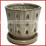 High grade hot-selling animated Ceramic Orchid Pot