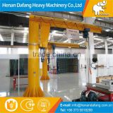 High Quality Floor Mounted Jib Crane 1~16ton Factory Lifting Equipment with Electric Hoist