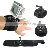 Hot Sale Gopros Accessories 360 Degree Gopros Wrist Arm Strap Band
