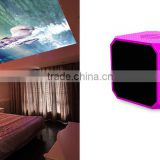 China supply price 50lumens brightness RGB LED with HDMI cable smart beam projector