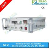 Hospital desktop medical ozone generator therapy instrument